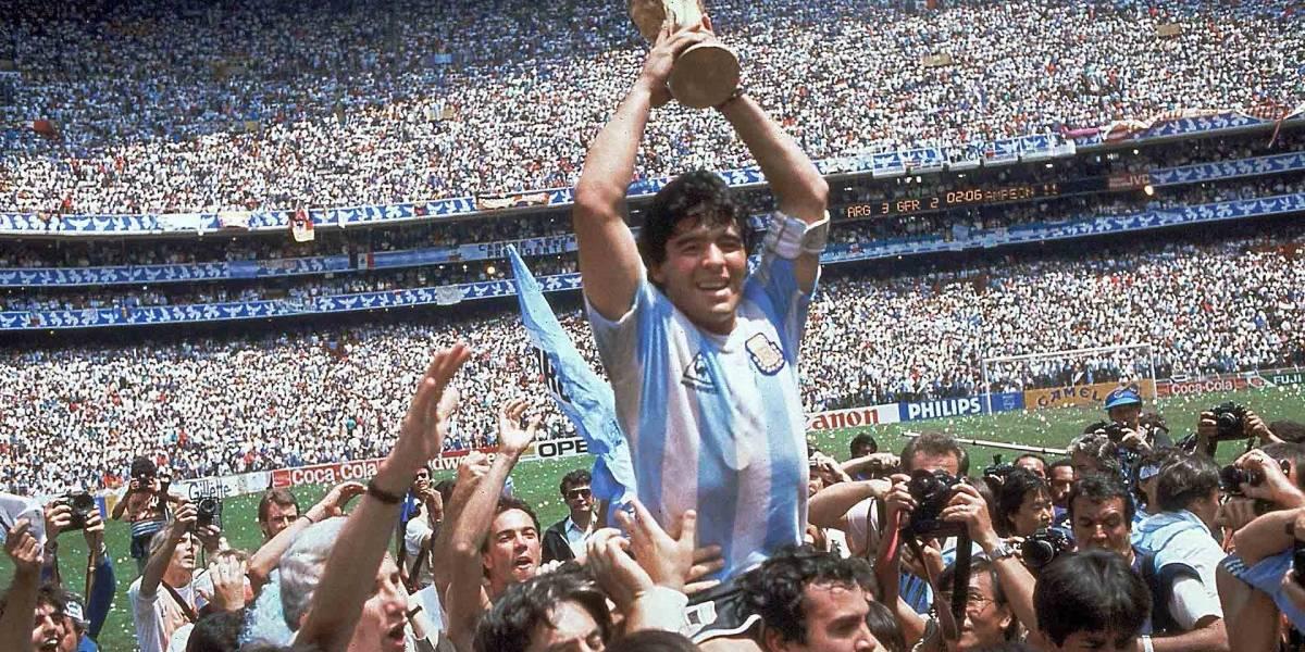 Así de escandalosos fueron los romances de Diego Armando Maradona
