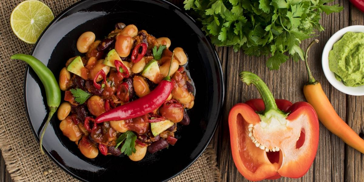 Comida mexicana: receita autêntica de chilli com carne