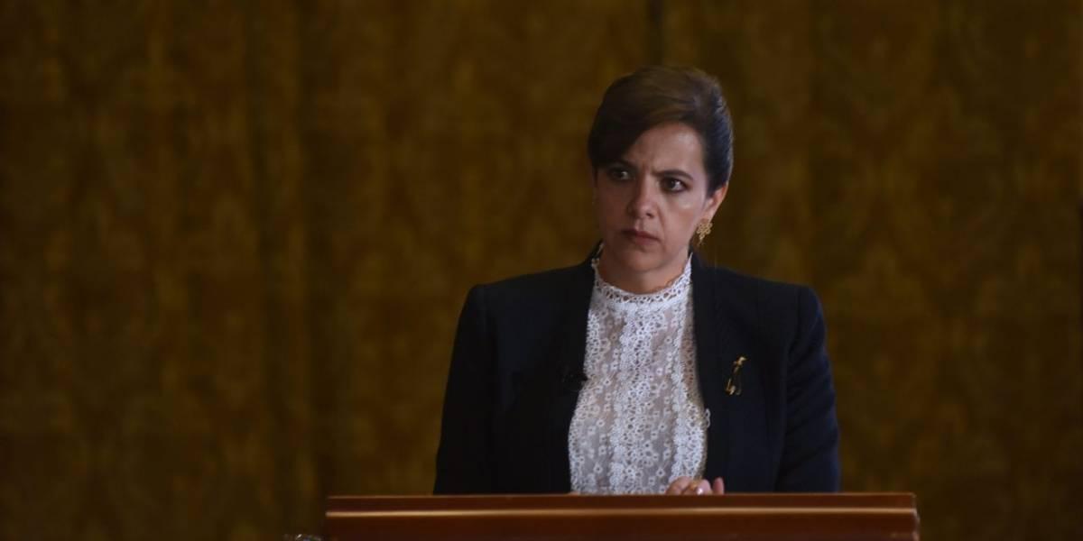 """María Paula Romo tras destitución: """"Después de dos años de gestión, cierro mi paso por el Ministerio de Gobierno"""""""