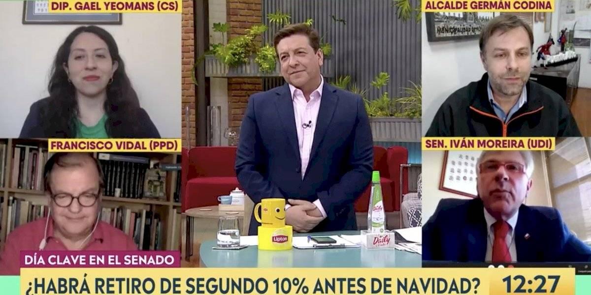 El ácido comentario de Moreira a Julio César Rodríguez por la muerte de Maradona