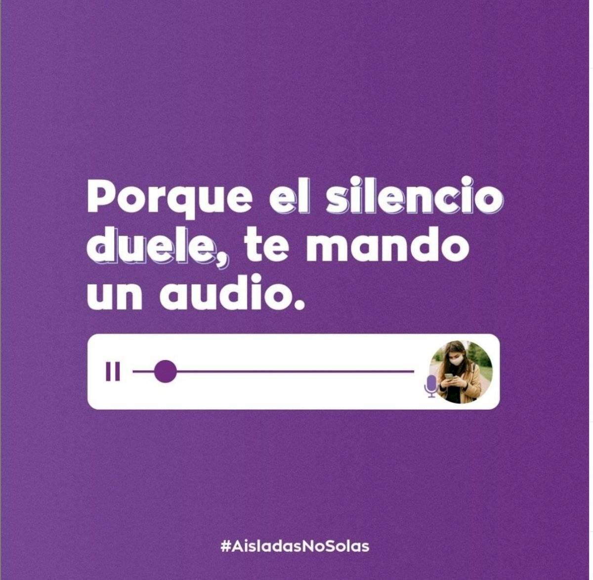 Mandame un audio