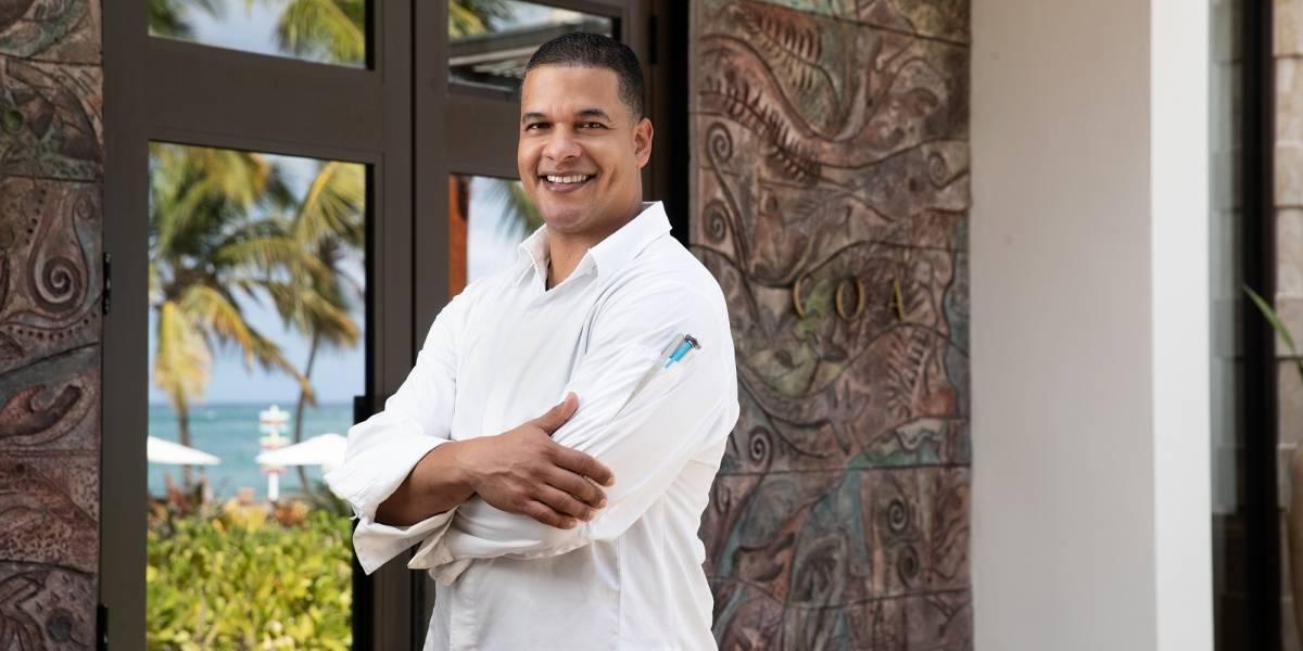 Chef Juan Peña enaltece las experiencias gastronómicas en el Dorado Ritz Reserve