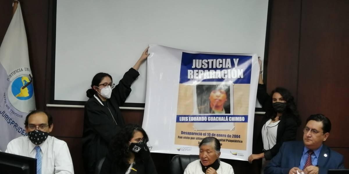Corte IDH escuchará a la madre de Luis Guachalá, desaparecido hace 16 años