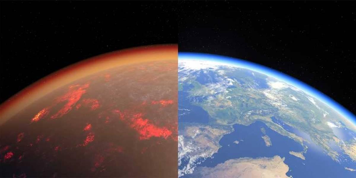 Estudio científico afirma que hace 4.500 millones de años la Tierra era muy parecida a lo que hoy es Venus