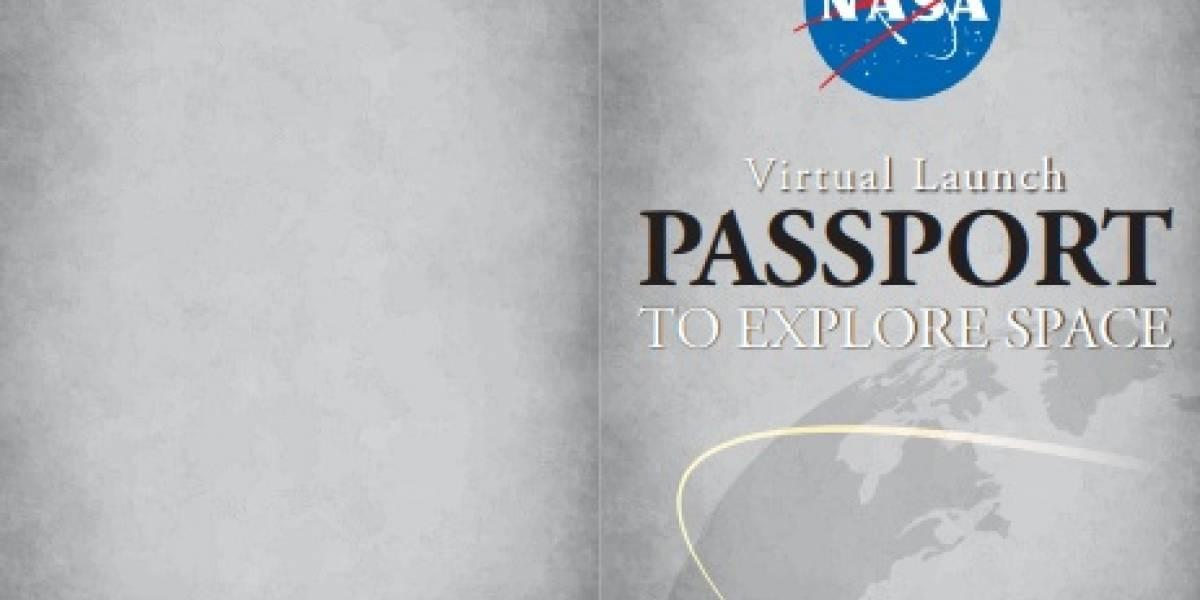 """Asiste al streaming del próximo lanzamiento de la NASA y SpaceX, y recibe tu propio """"pasaporte virtual"""" con su respectivo sello"""