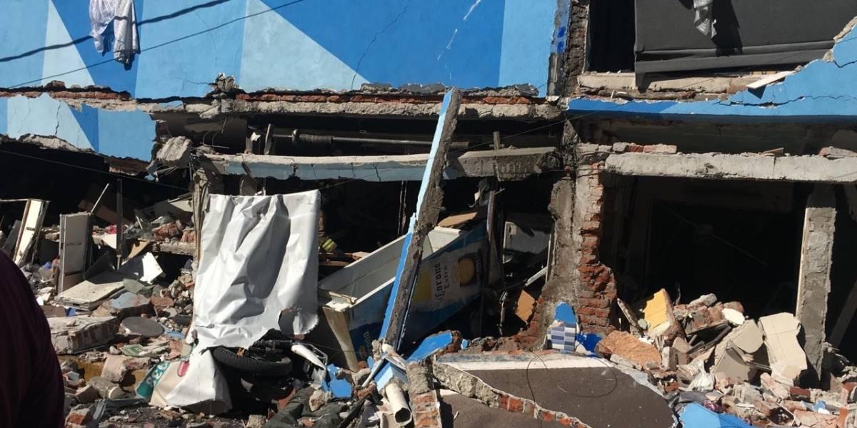 Explosión en alcaldía Azcapotzalco deja al menos dos lesionados