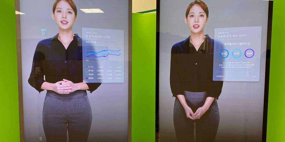 """Los """"humanos artificiales"""" que Samsung bautizó como Neon ya están en los celulares de los desarrolladores de la compañía"""