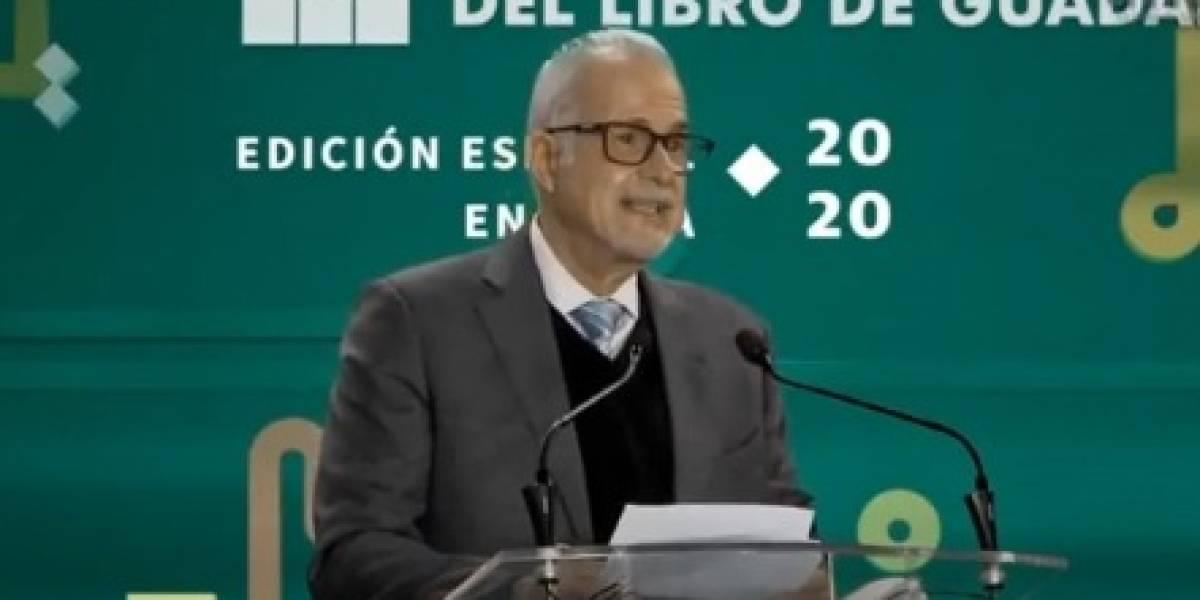 FIL Guadalajara no se consolidó en contra de personas: Padilla