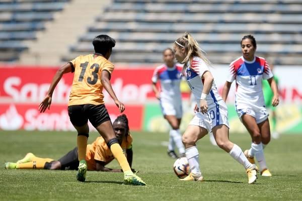 "La ""Roja"" femenina cayó en amistoso ante Zambia"