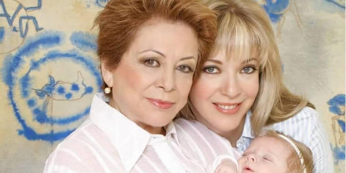 Muere la mamá de Edith González