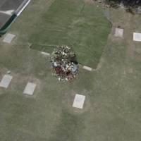 Imágenes de dron muestran el cementerio donde fue enterrado Maradona