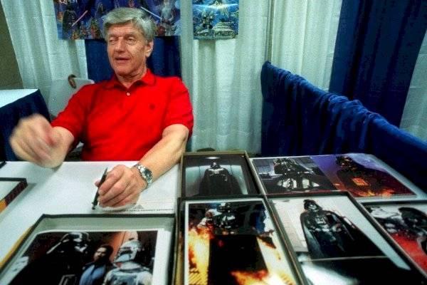 """Duelo en el mundo de """"Star Wars"""": murió el actor que interpretó a Darth Vader en la famosa trilogía del cine"""