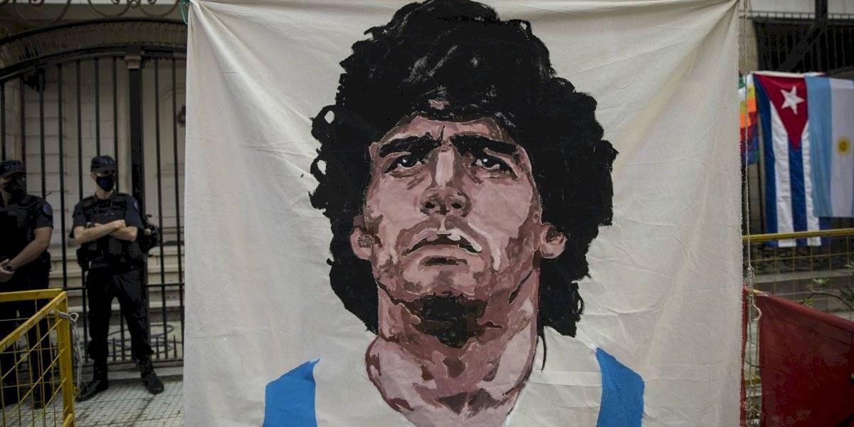 Enfermero es indagado por muerte de Diego Maradona