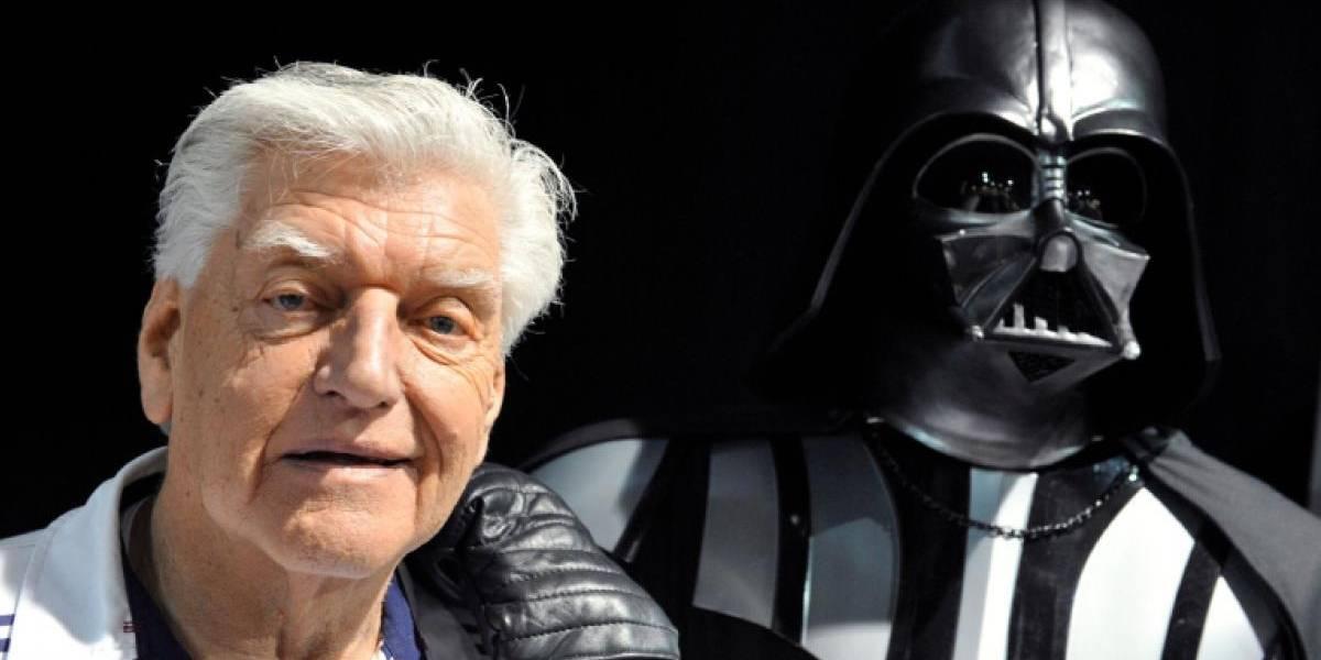 'Que la fuerza lo acompañe, ¡siempre!' a David Prowse, actor de Darth Vader