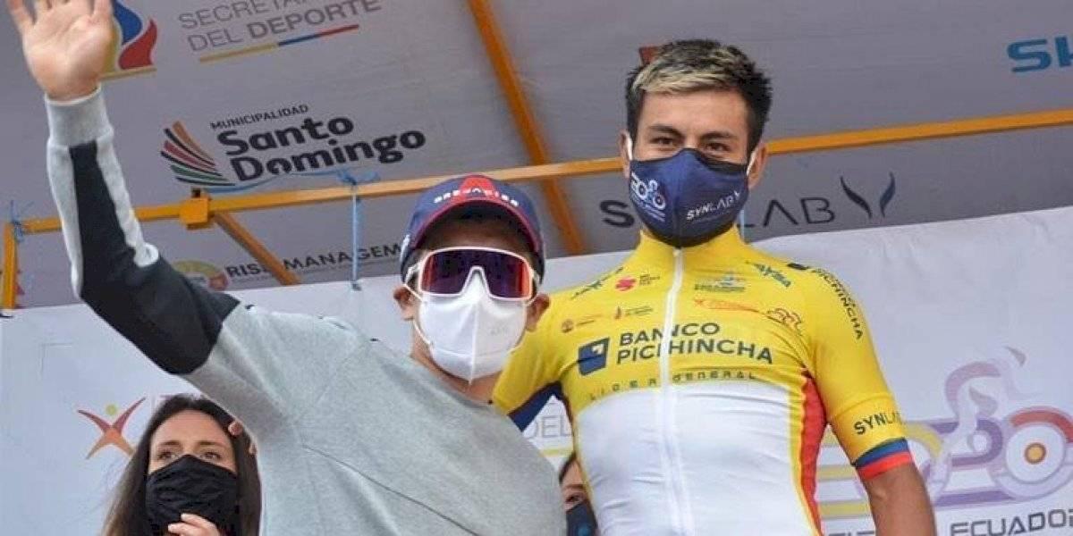 Vuelta a Ecuador: Jimmy Montenegro campeón y Richard Carapaz reacciona tras la competencia