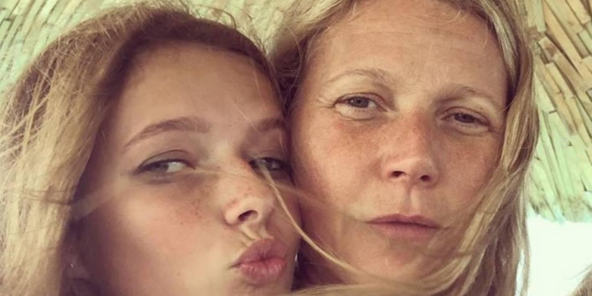 El asombroso parecido de Gwyneth Paltrow y su hija Apple, ¡como dos gotas de agua!