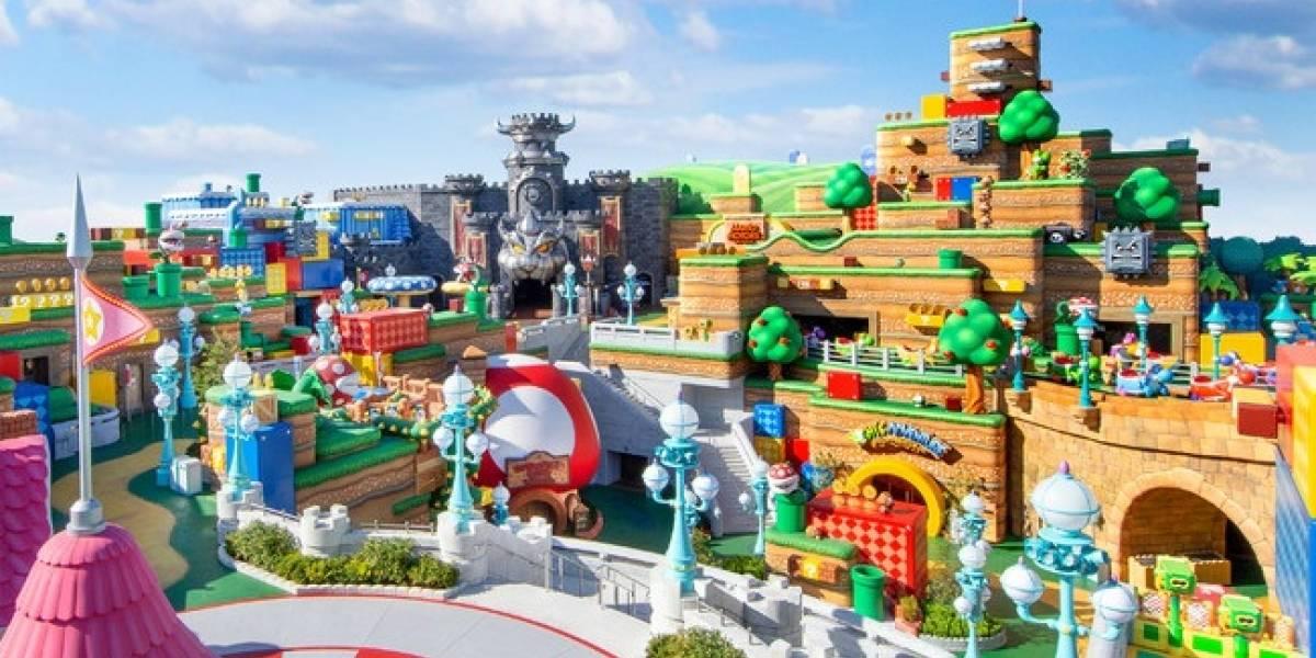 Portaltic.-Super Nintendo World permitirá exprimentar las carreras de Mario Kart con realidad aumentada