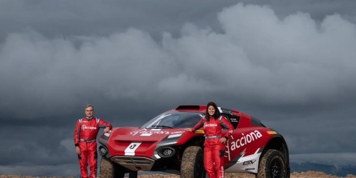 Motor.- Laia Sanz da el salto a los coches junto a Carlos Sainz en el Extreme E en 2021