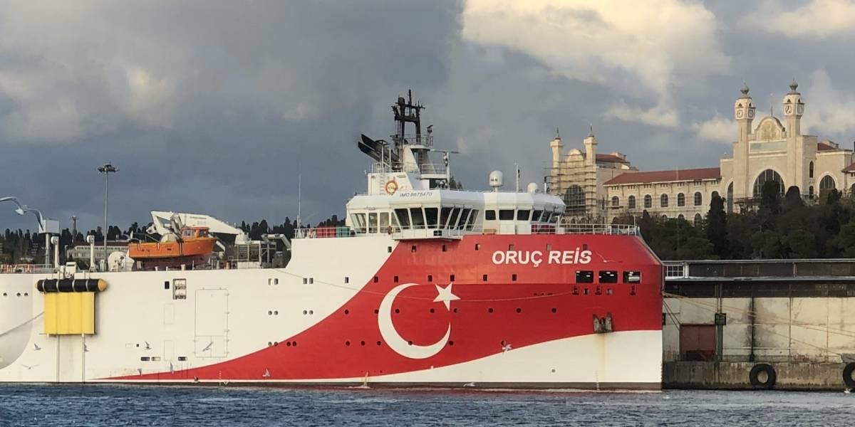 Turquía/Grecia.- El buque de exploración turco 'Oruc Reis' vuelve a puerto días antes de la cumbre de la UE