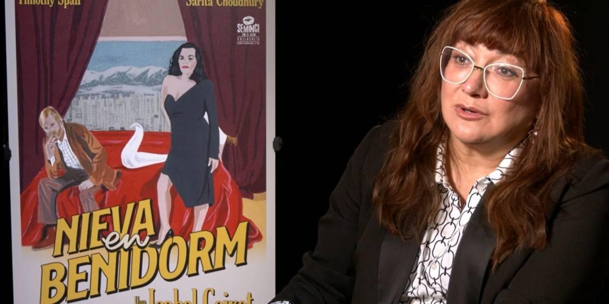 """Isabel Coixet dirige 'Nieva en Benidorm': """"Estrenar en plena pandemia es un acto de valentía y amor al cine"""""""