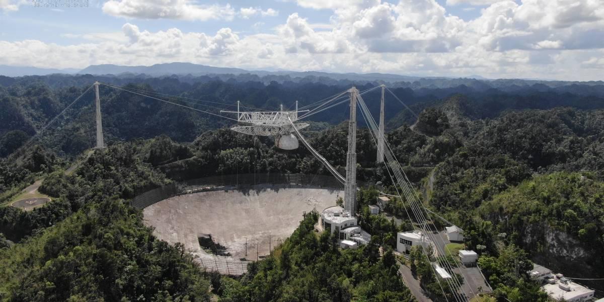 Ciencia.-Más de 50.000 firmas piden reconsiderar la demolición de Arecibo