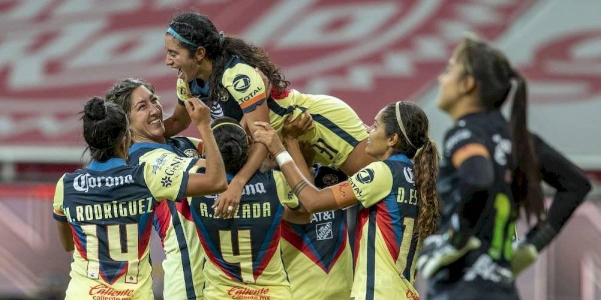 América Femenil elimina a las Chivas y avanza a semifinales
