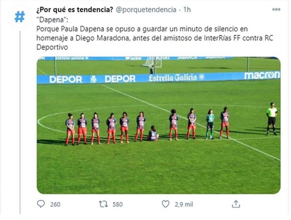 Homenaje Maradona