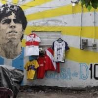 Villa Fiorito localidad natal de Maradona, rinde homenaje a la leyenda con un partido de futbol
