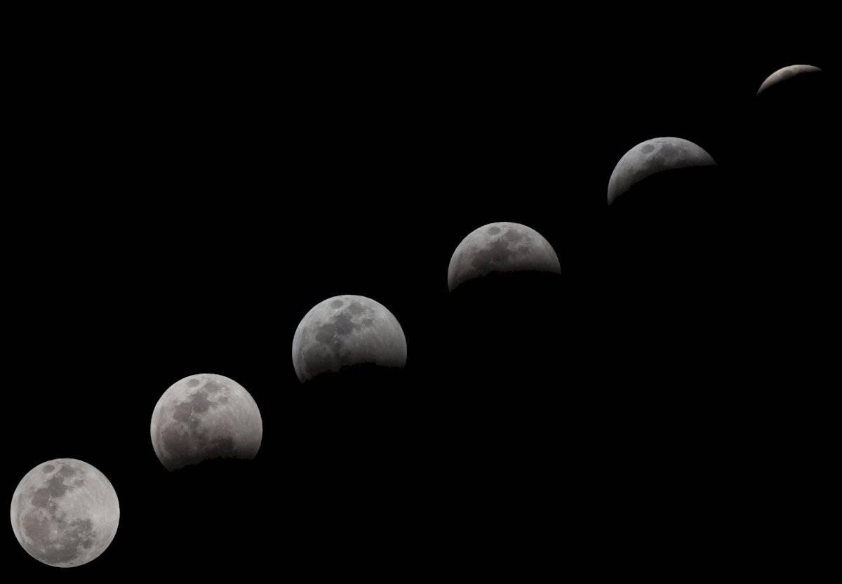 El eclipse pudo verse en México y otros países de América
