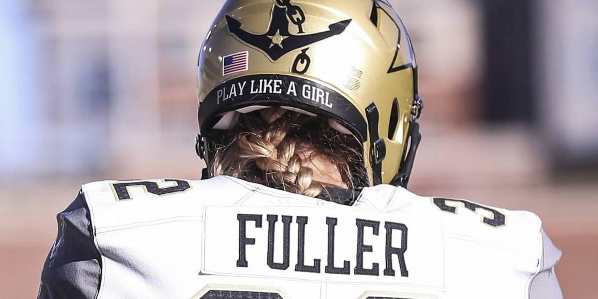 Ella es Sarah Fuller, la primera jugadora de fútbol americano colegial