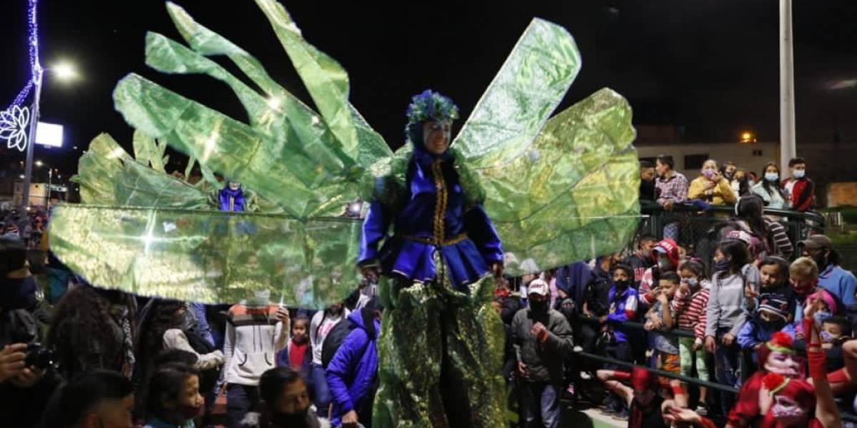 """""""Nos pudo un tris la emoción"""": Claudia López, por aglomeraciones en el encendido de la Navidad"""