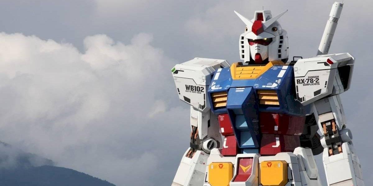 Japón termina de construir su robot gigante: El 'Gundam' de 18 metros