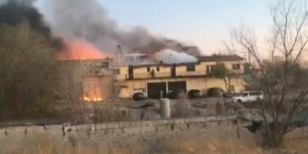 Incendio consume albergue infantil en Ciudad Juárez