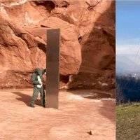 Aparece un nuevo monolito de manera misteriosa; ahora fue en Rumania