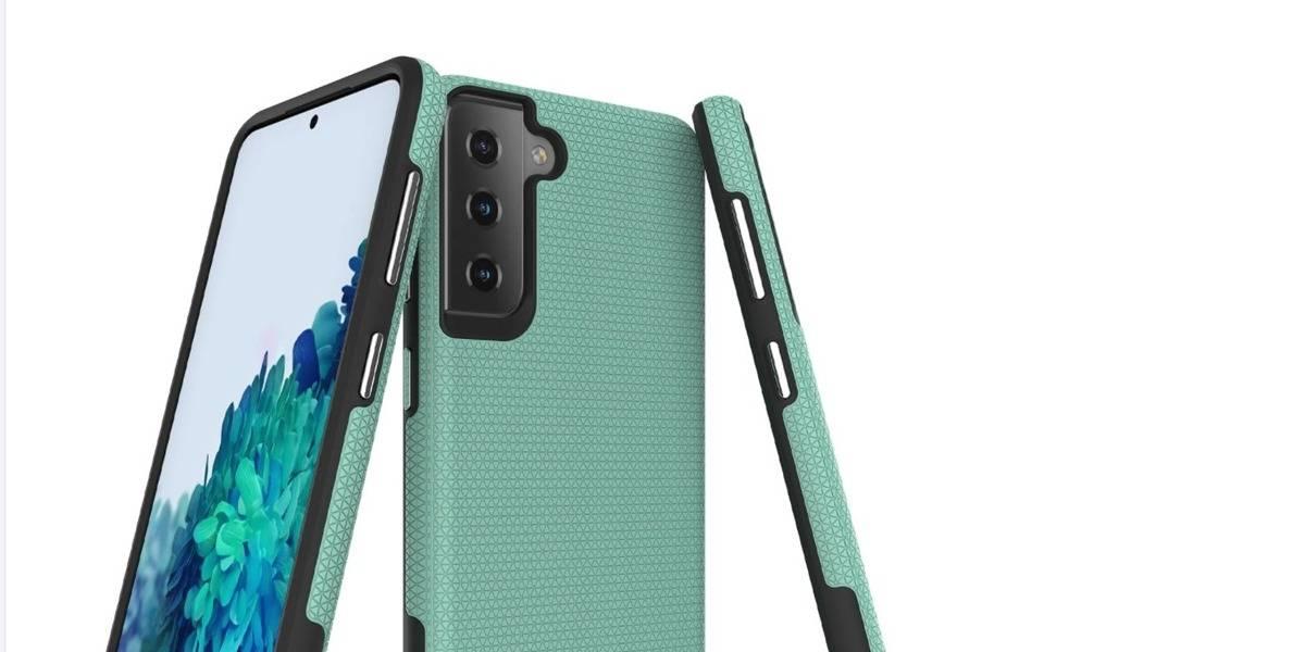 Samsung Galaxy S21 confirma su nueva imagen en renders de fundas protectoras