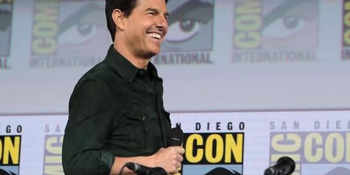 Inéditas imágenes de Tom Cruise y Hayley Atwell en las gracaciones de 'Misión Imposible 7'