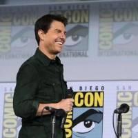 Inéditas imágenes de Tom Cruise y Hayley Atwell en las gracaciones de