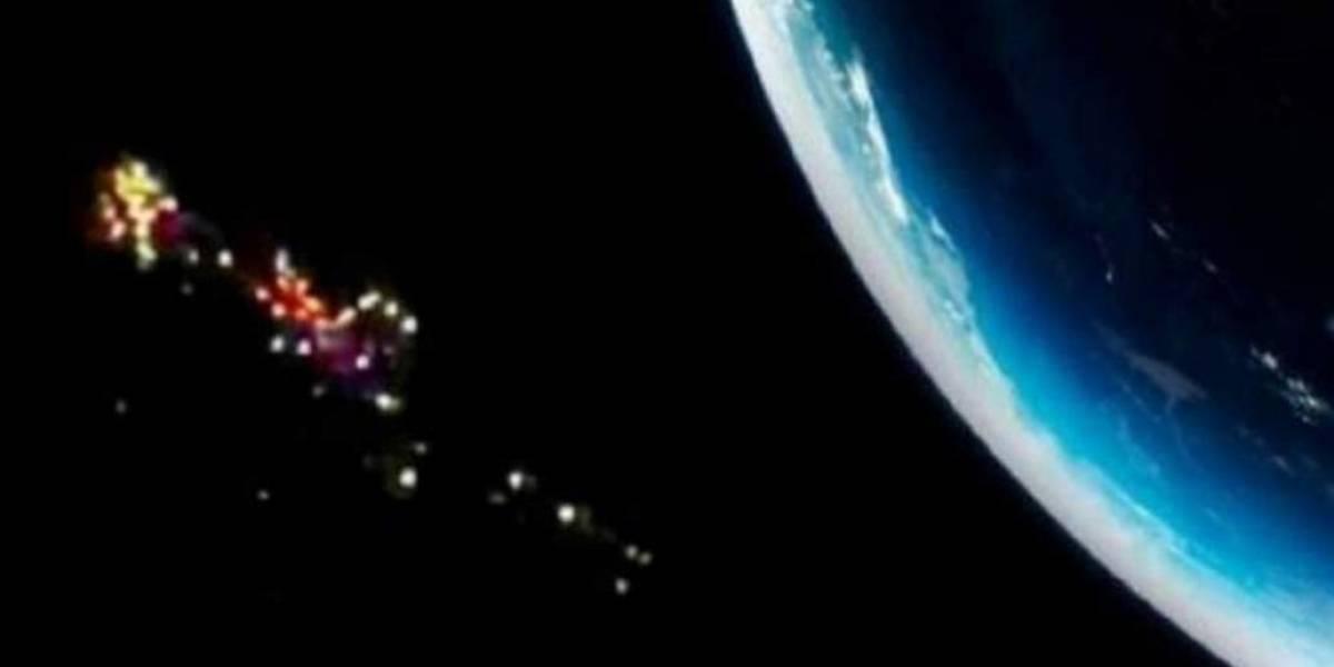 Estación Espacial Internacional detecta 150 ovnis ¿se dirigen a la Tierra?