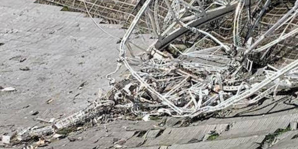 Error de fabricación pudo provocar colapso del Observatorio de Arecibo