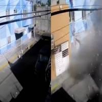 Revelan momento exacto de la explosión en pizzería de Azcapotzalco