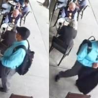 Hombre aprovecha distracción de mujer mayor para robarle bolso en la Roma