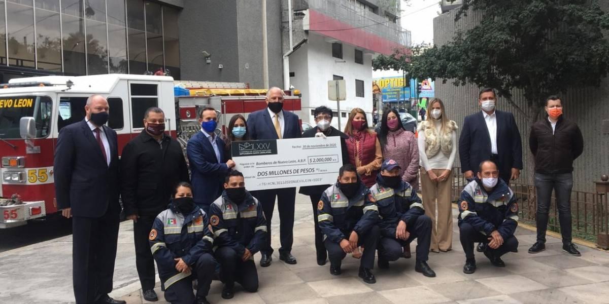 Ante la crisis Bomberos de Nuevo León empezaría a cobrar