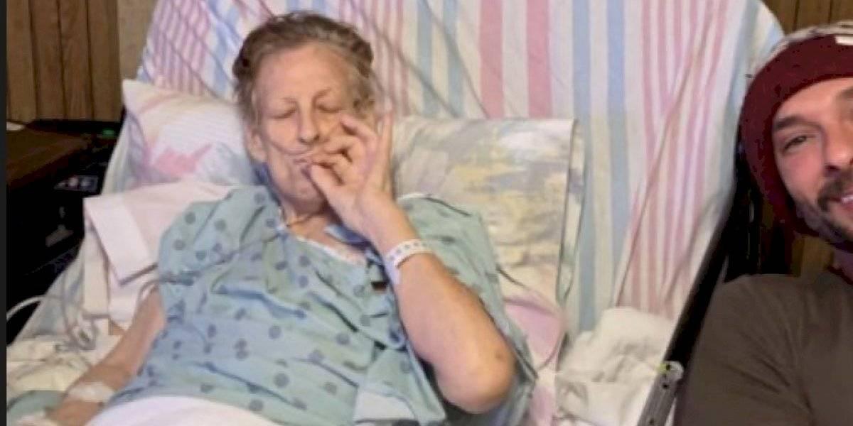 Nieto fuma marihuana con su abuela a pocas horas de morir