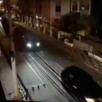 Vídeo: em noite de terror, quadrilha fortemente armada toma conta do centro de Criciúma