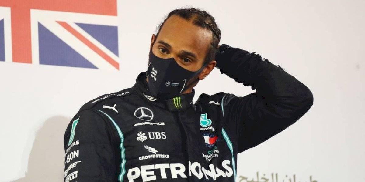 El covid-19 golpea a un campeón mundial: Lewis Hamilton da positivo y se perderá el GP de Sakhir