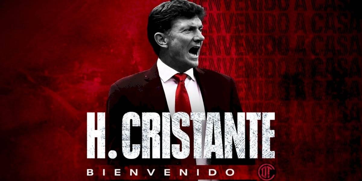 Regresa Hernán Cristante a Toluca; es el nuevo director técnico