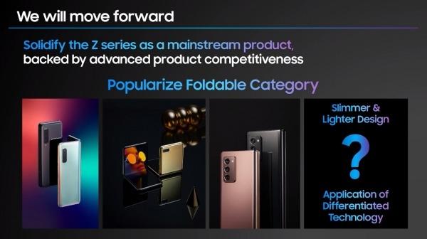 Samsung confirma que trabaja en un smartphone plegable y no sería el Galaxy Z Fold 3