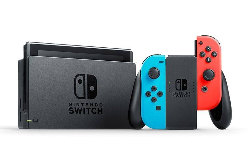 Nintendo Switch actualización