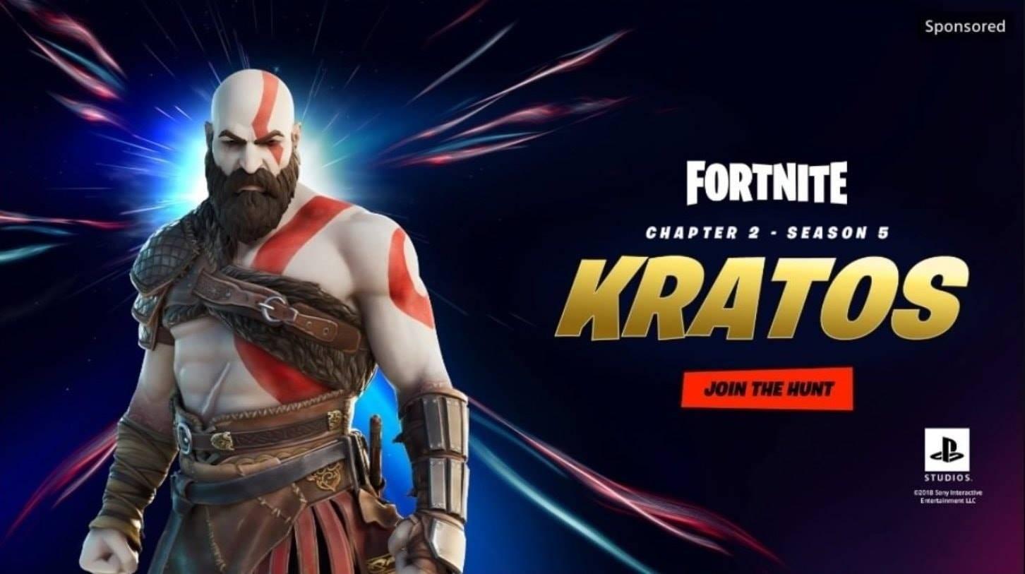 Fortnite God of War Kratos