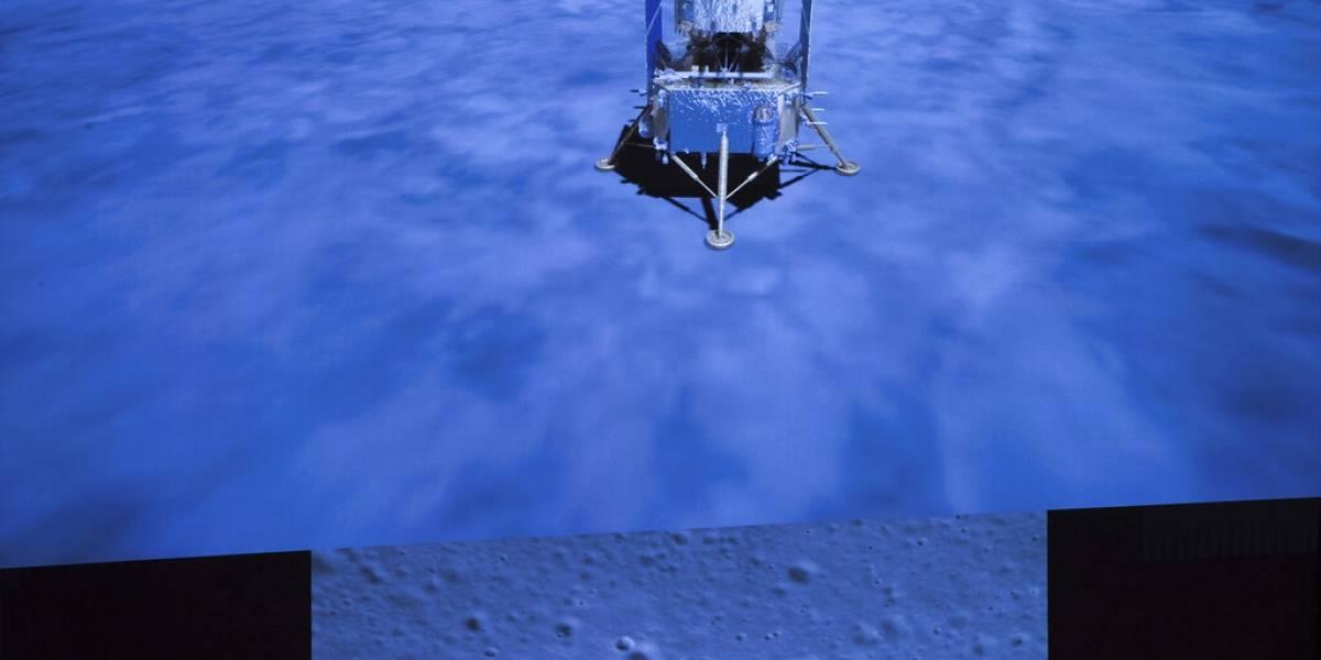 Sonda china recoge con éxito muestras en la Luna